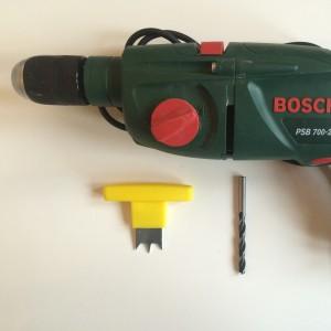 Bohrmaschine, 6-8 mm Bohrer, Handfräse
